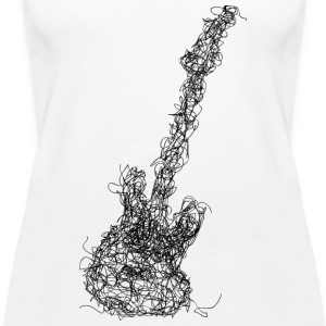 Lower Scribble - Frauen Premium Tank Top