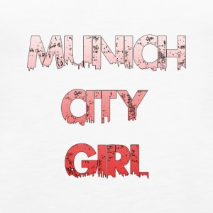 Munich City Girl - Women's Premium Tank Top