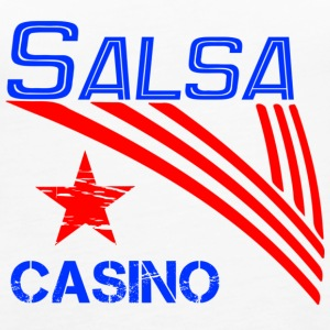 Salsa Casino blue - Pro Dance Edition - Women's Premium Tank Top