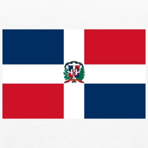 National Flag Of The Dominican Republic - Women's Premium Tank Top