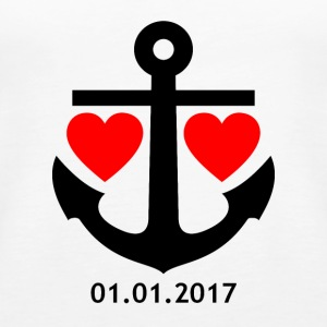 01.01.2017 Relationship Shirt - Women's Premium Tank Top