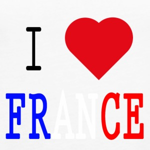 I Love France - Tank top damski Premium