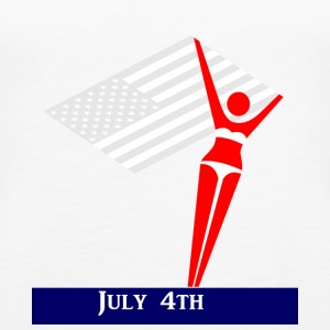 USA 4th July - Women's Premium Tank Top