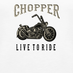 chopper - Premium singlet for kvinner