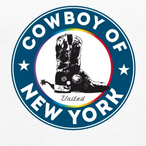 cowboylaarzen New York Symbool Gay Pride Humor lol - Vrouwen Premium tank top