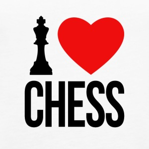 I LOVE CHESS - Frauen Premium Tank Top