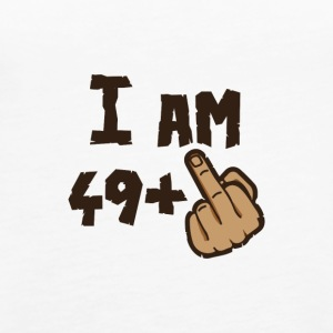 I AM 49 + X - Women's Premium Tank Top