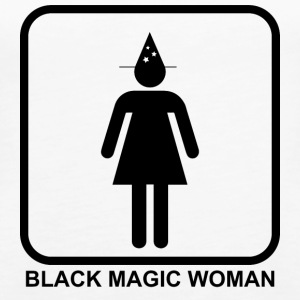 Black Magic Woman - Naisten premium hihaton toppi