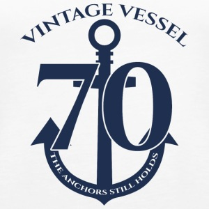 70. Geburtstag: Vintage Vessel - 70 - The Anchors - Frauen Premium Tank Top