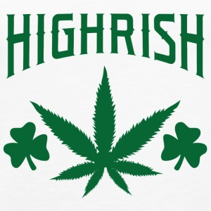 Irland / St. Patricks Day: Highrish - Dame Premium tanktop