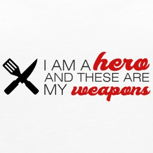 Cook / Chefkoch: I'm A Hero And These Are My - Women's Premium Tank Top