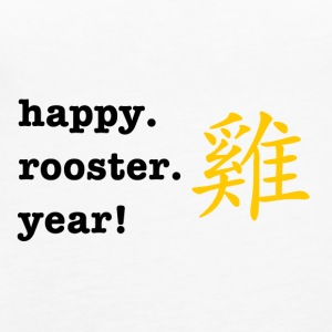 happy rooster year - Women's Premium Tank Top