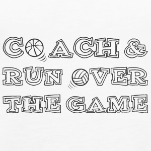 Coach / Coach: Coach & run Over The Game - Women's Premium Tank Top