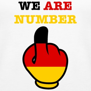 Germany Deutschland WE ARE NUMBER 1 - Frauen Premium Tank Top
