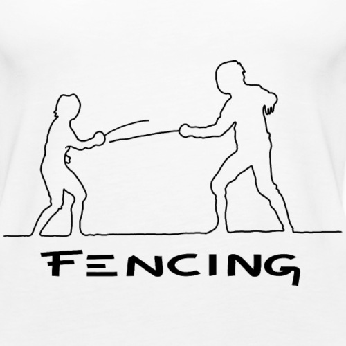 FENCING - Frauen Premium Tank Top