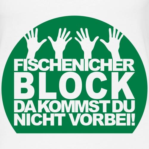 Fischenicher Block Hände individualisierbar - Frauen Premium Tank Top