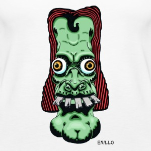 Enillo głowy Comicstyle Psychedelic - Tank top damski Premium