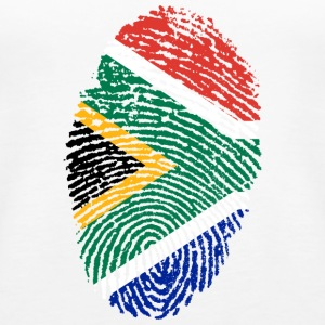 Fingerprint - South Africa - Women's Premium Tank Top