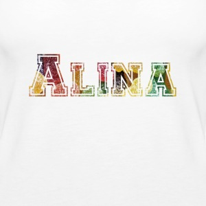 Alina, the brave. - Women's Premium Tank Top
