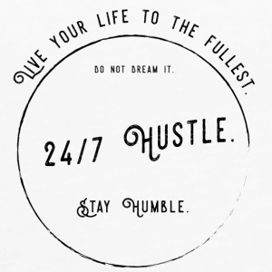 24/7 Hustle - Work for your dreams. - Women's Premium Tank Top
