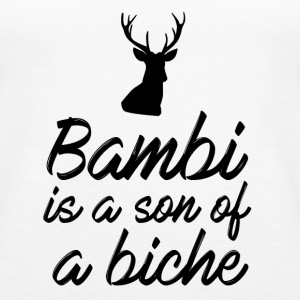 Bambi is a son of a biche - Débardeur Premium Femme