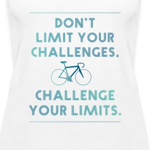 Road bike biker cool design style entitlement fun - Women's Premium Tank Top