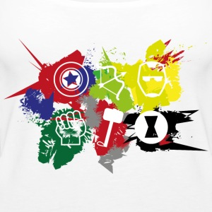 Superhero Team - Women's Premium Tank Top