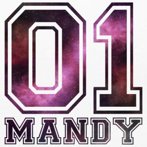Mandy name - Women's Premium Tank Top