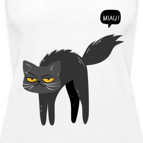Gatita Miau - Camiseta de tirantes premium mujer