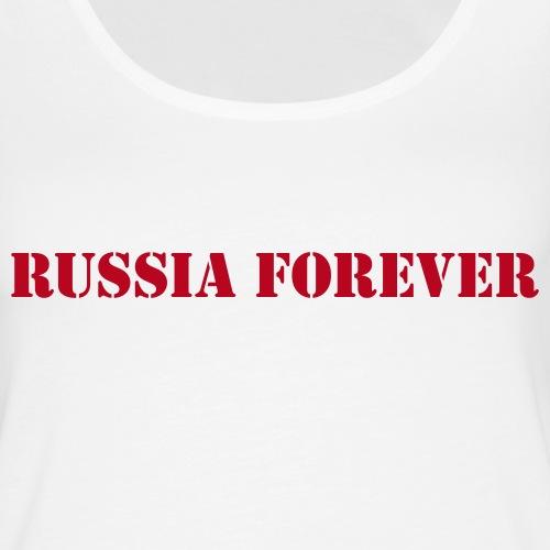 Russia forever - Frauen Premium Tank Top