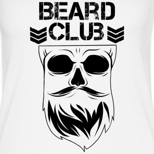 Beard Club schwarz - Frauen Premium Tank Top