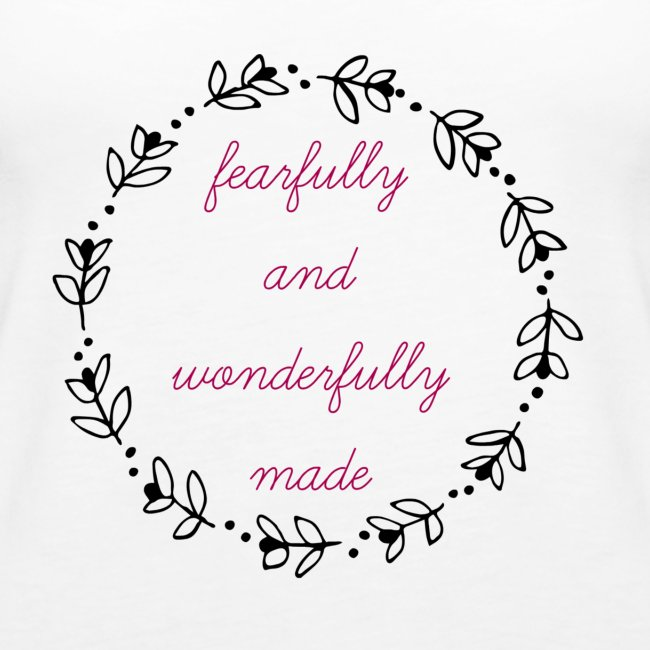fearfully made large