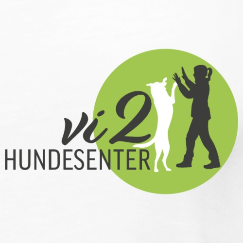 Vi2 Hundesenter / lite Motiv - Premium singlet for kvinner