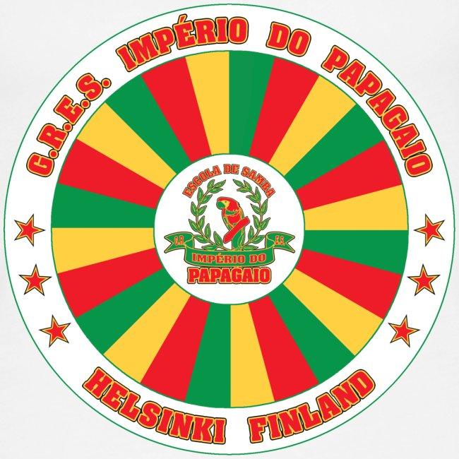 Papagaio drum logo