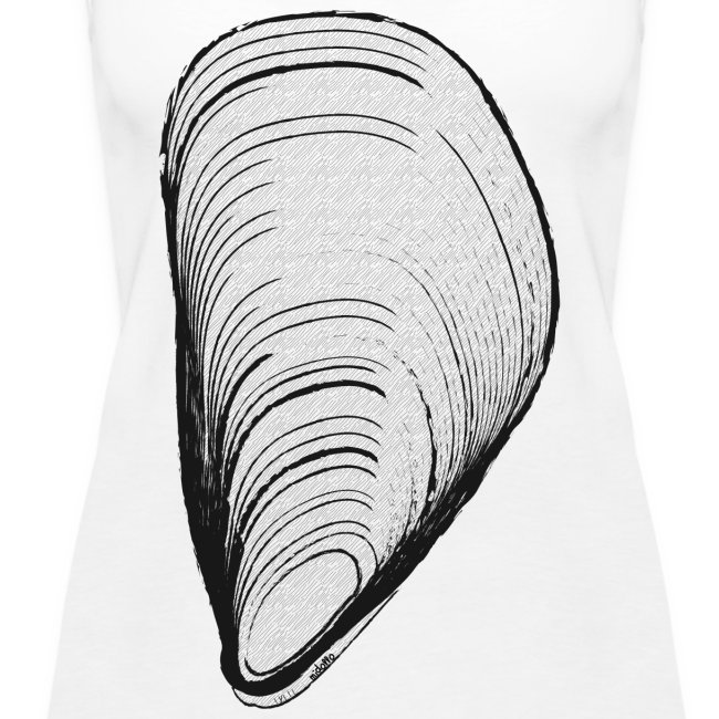 white mussel