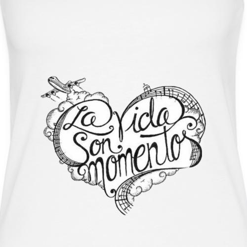 LA VIDA SON MOMENTOS - Camiseta de tirantes premium mujer
