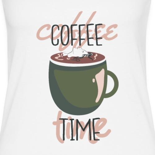 It's coffee time - Zeit für Kaffee - Frauen Premium Tank Top