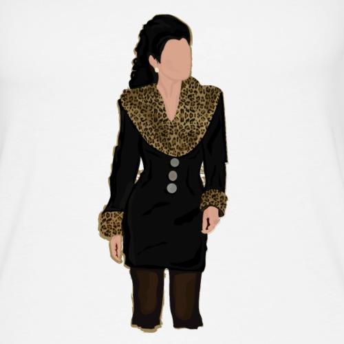 Completino leopardato del primo episodio - Canotta premium da donna