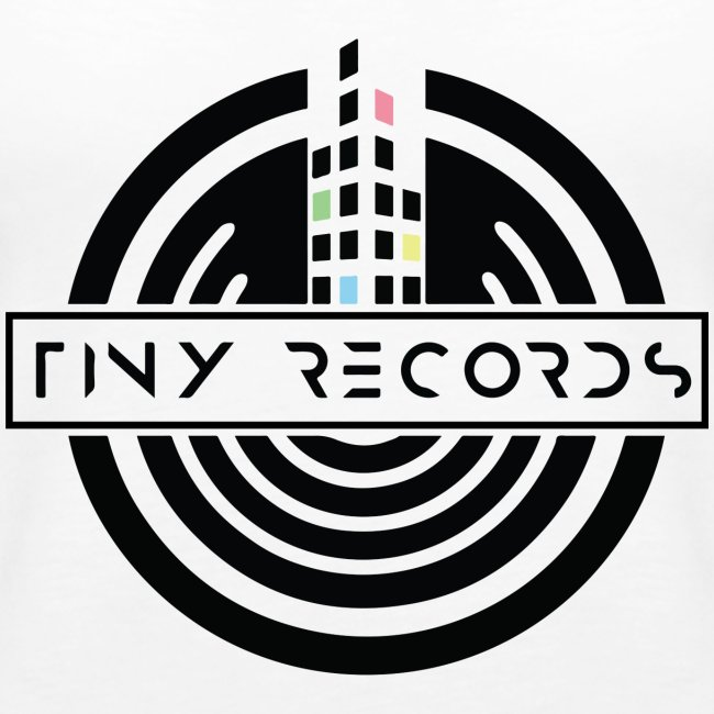 Tiny Record - Black Logo
