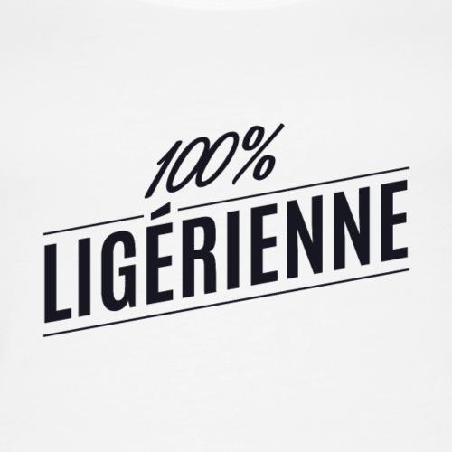 Tee shirt ligérienne noir - Débardeur Premium Femme