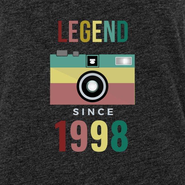 Legend since 1998 birthday t-shirt