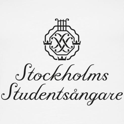SSSF logo / emblem + namn (svart)