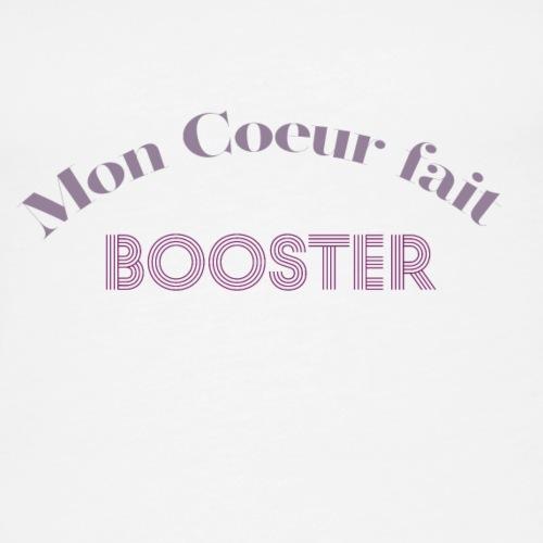 moncoeurfaitbooster - Women's Premium Tank Top