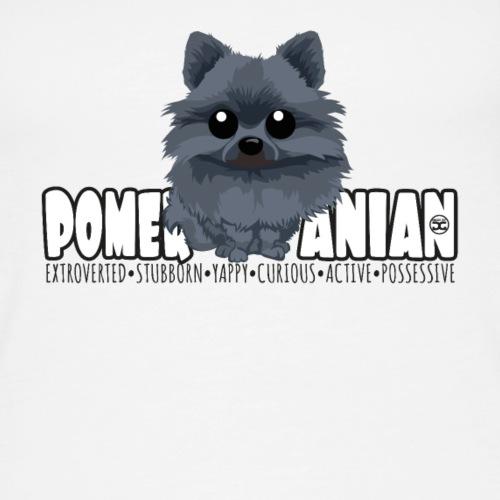 Pomeranian (Black) - DGBigHead