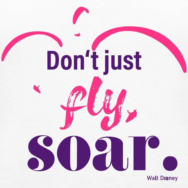 Don't just fly, soar. 🕊️