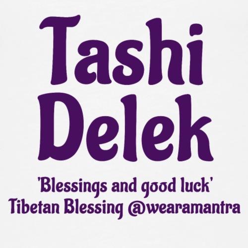 Tashi Delek purple - Canotta premium da donna