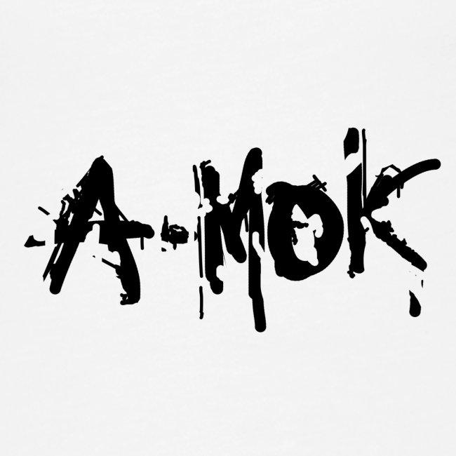 AMOK 2020 Schrift Schwarz V1