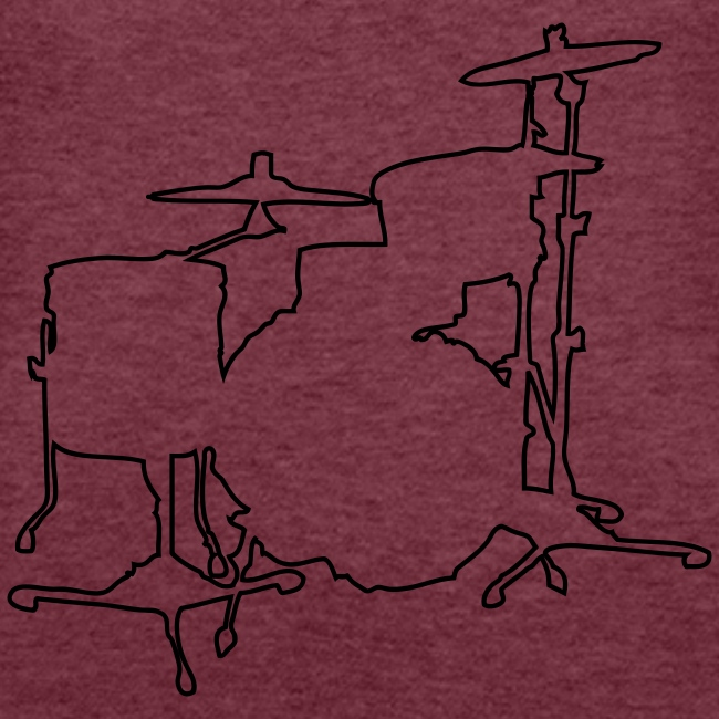 Drums Silhouette