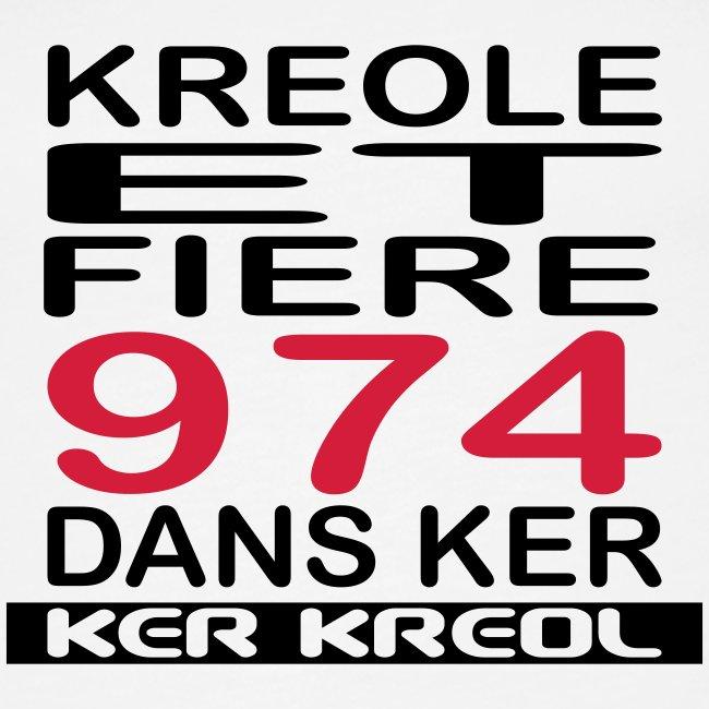 Kreole et Fiere - 974 ker kreol