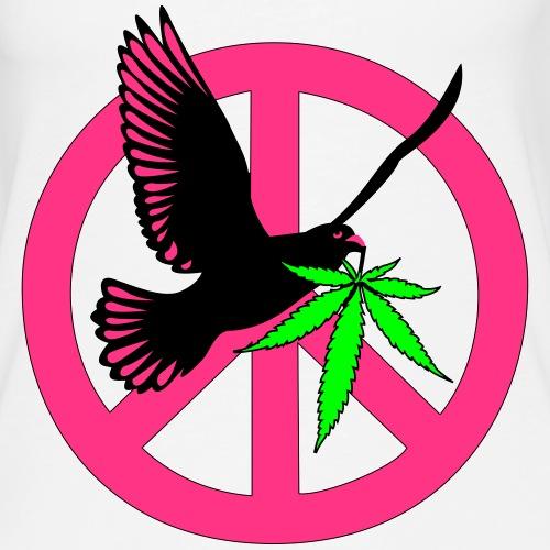 Peace Man.. - Vrouwen Premium tank top